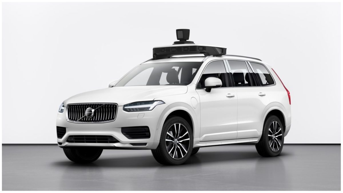 Volvo and uber self driving car 3