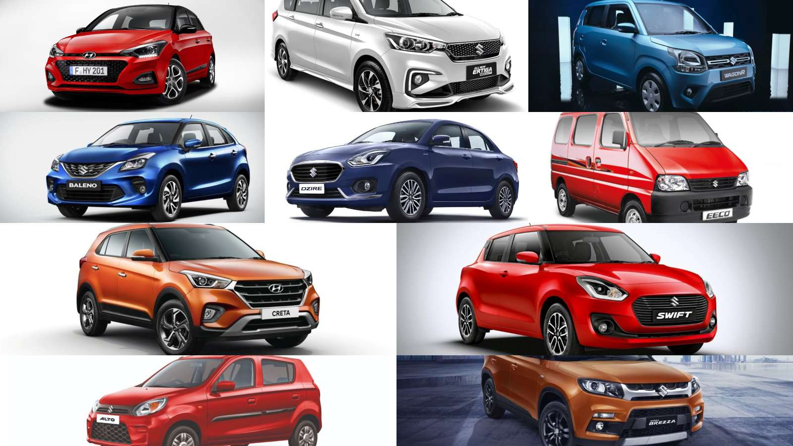 Top 25 selling cars in india may 2019