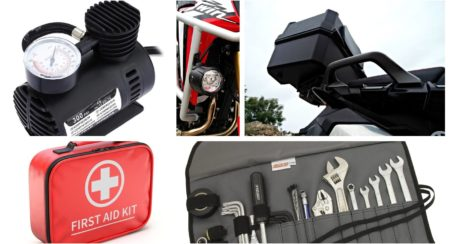 touring accessories collage