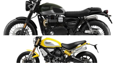 triumph vs ducati comparo