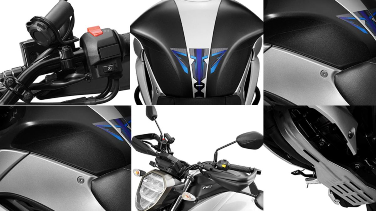 2019 Suzuki Gixxer Accessories