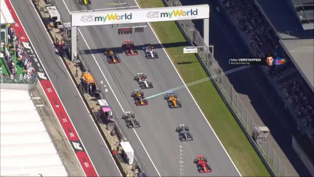 Austrian GP 2019 race start