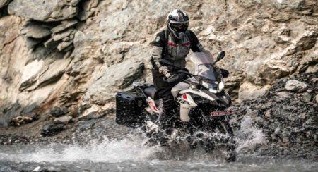 Benelli TRK 502X to Ladakh river crossing