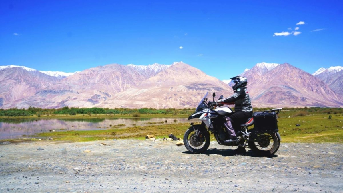 Benelli TRK 502X to Ladakh side