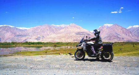 Benelli TRK 502X to Ladakh side