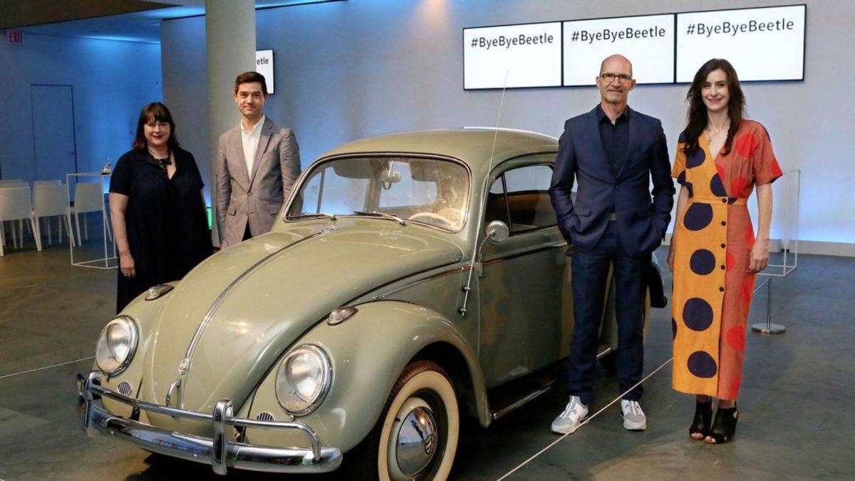 Bye Bye Volkswagen Beetle