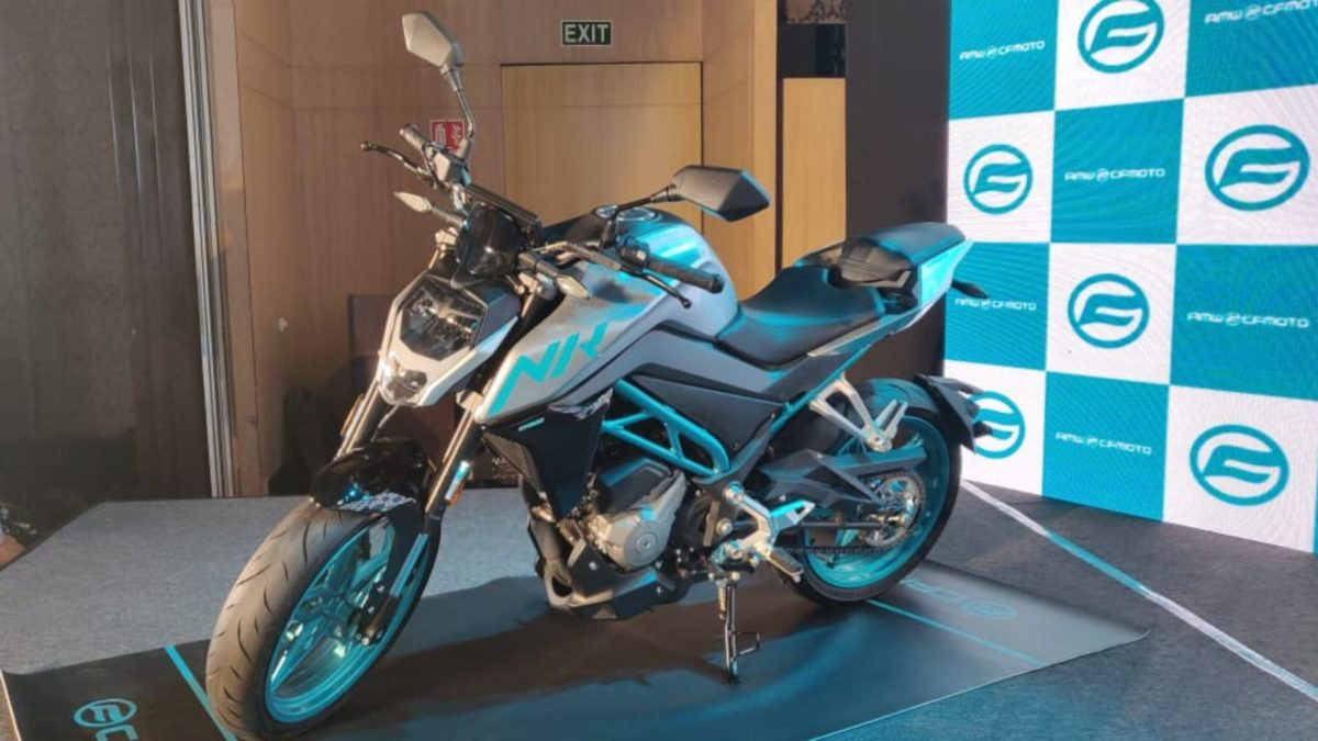 CF Moto 300 NK launch featured