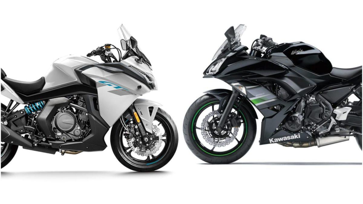 CF Moto 650 GT vs Kawasaki Ninja 650