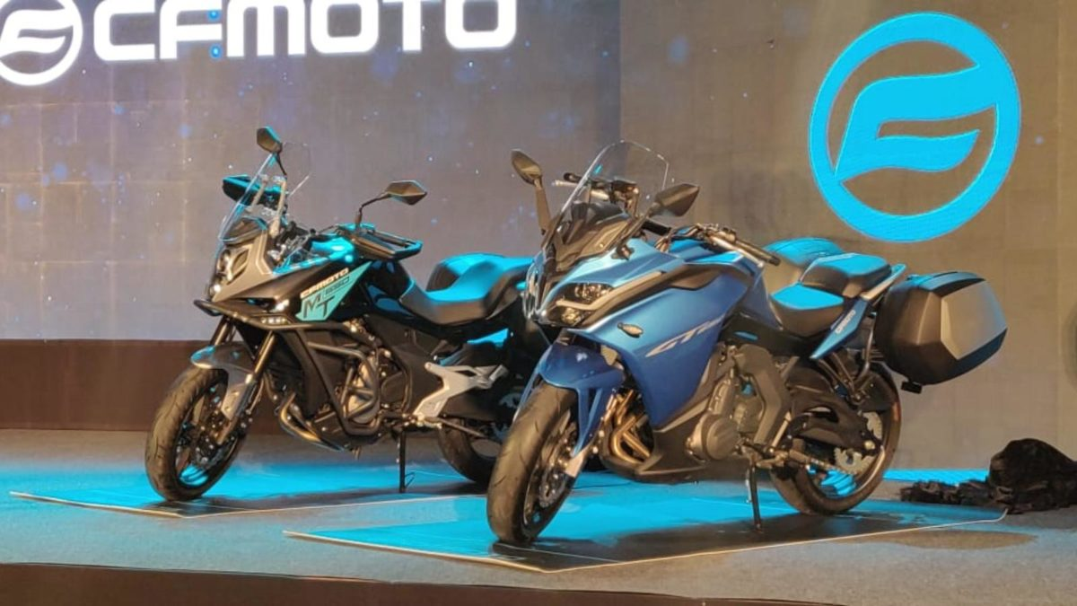 CF Moto launch 650 MT and 650 GT