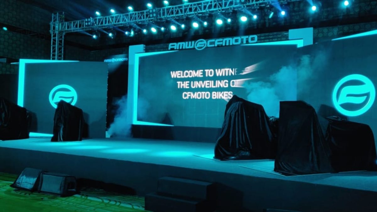 CF Moto launch event