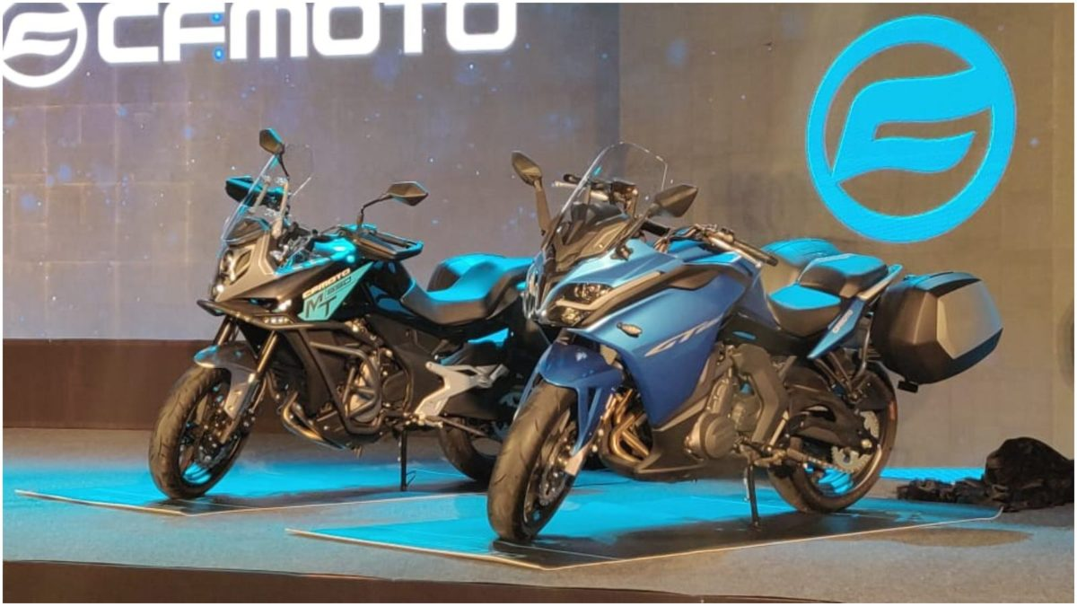 CFMoto 650 MT and 650 GT