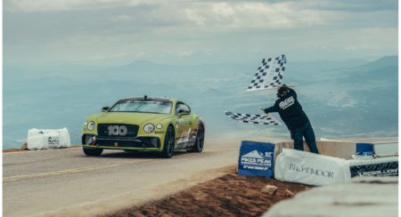 Continental GT Breaks Record at Pikes Peak (1)