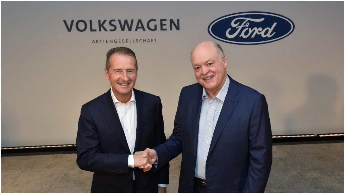 Ford Volkswagen expand their global collaboration