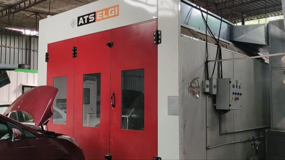GoMechnic services ATS Elgi Paint Booth