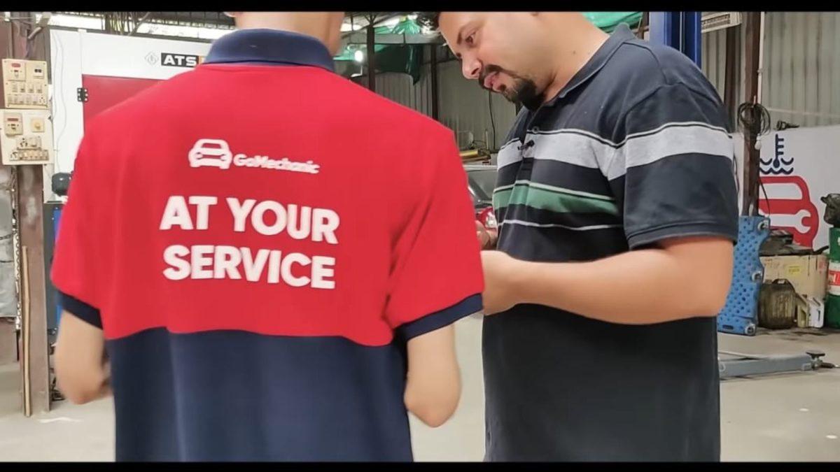 GoMechnic services job card