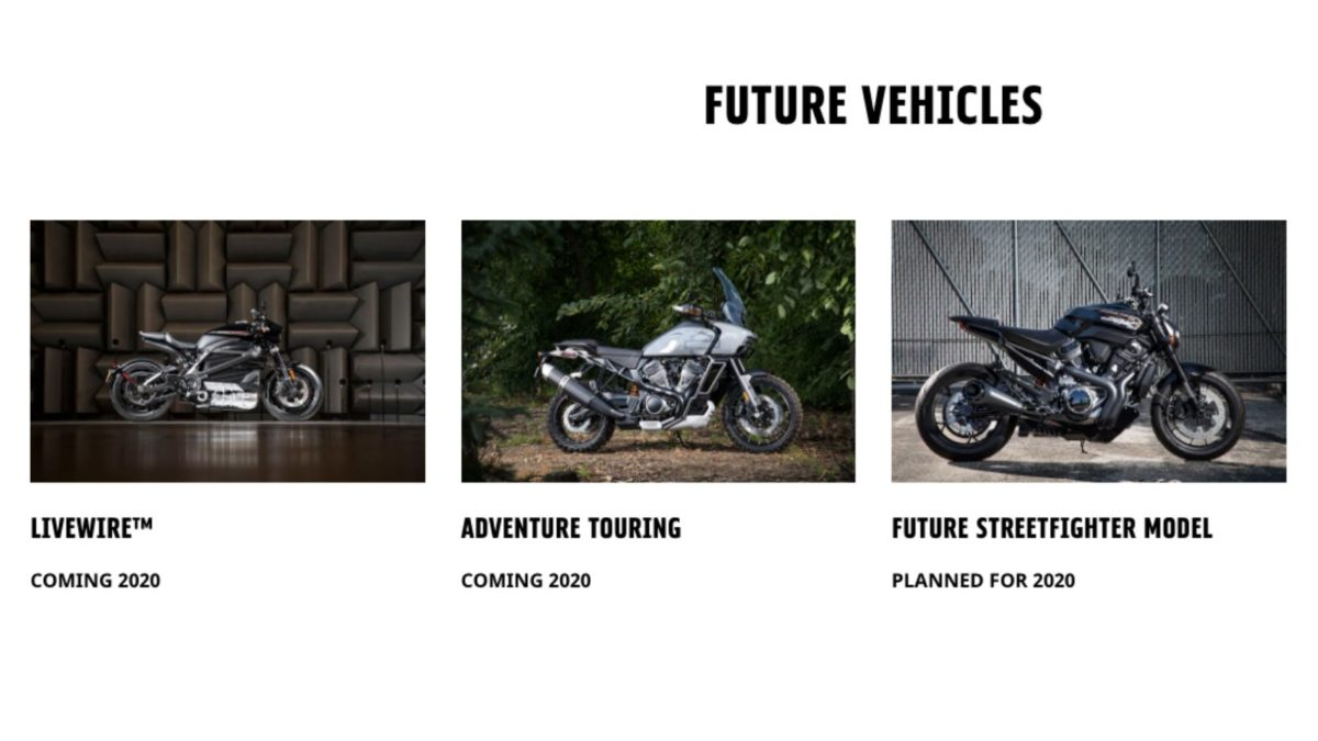 Harley Davidson Future vehicles
