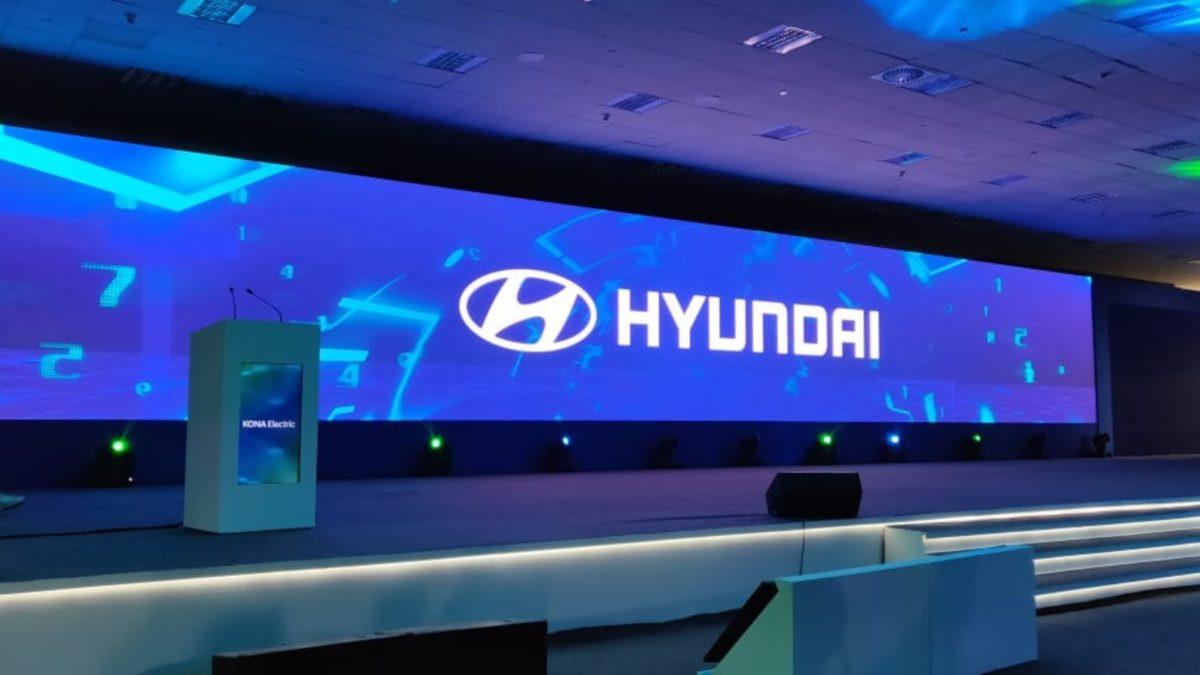 Hyundai Kona laucnh live stage