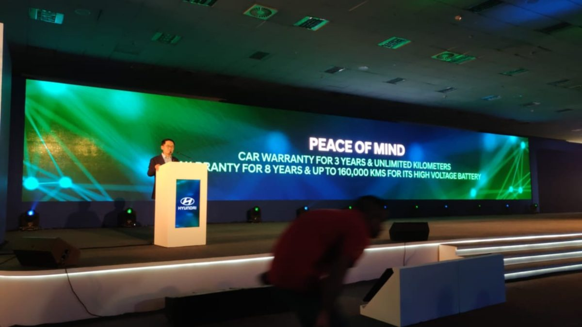 Hyundai Kona launch Peace of mind