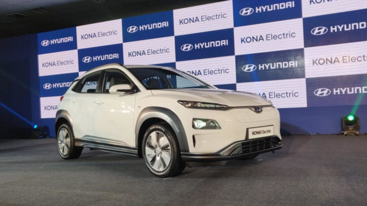 Hyundai Kona launch front quarter