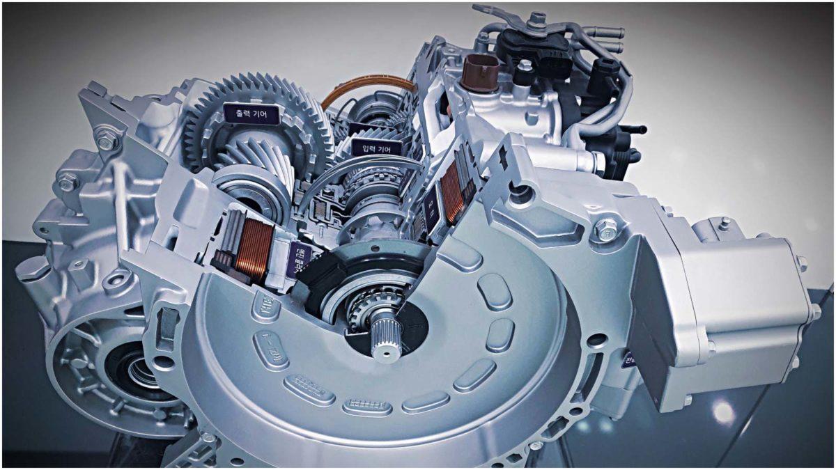 Hyundai Shift control hybrid 2