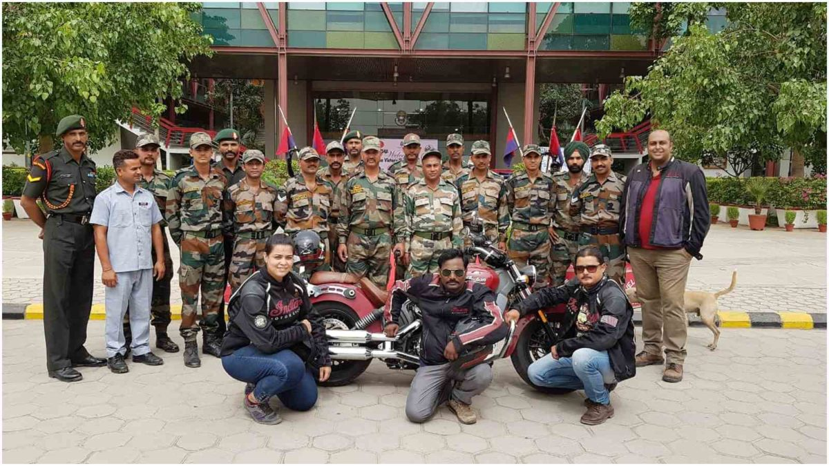 Indian Motorcycle® rides for Nation's Pride from Delhi to Kargil