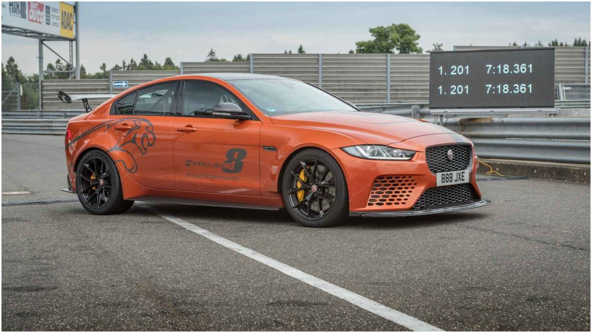 Jaguar – Project 8 – Nurburgring Record 2019 1