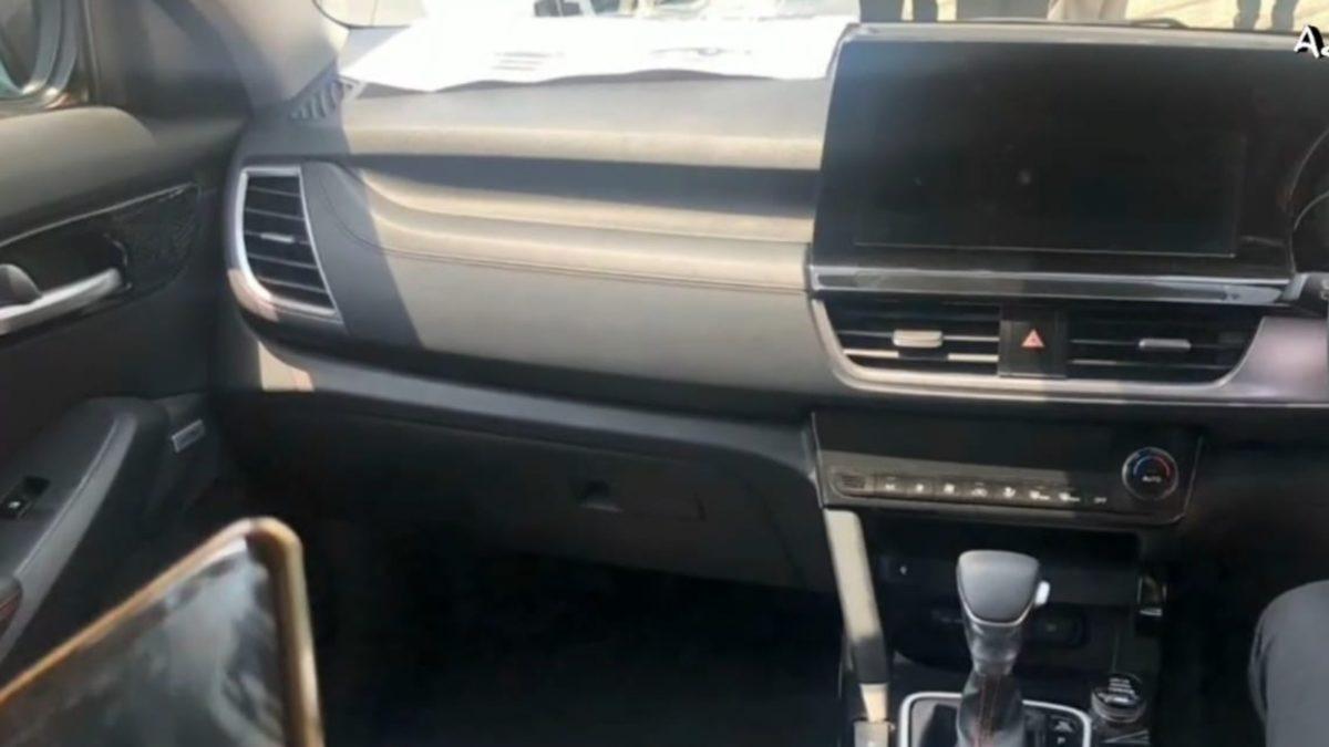 Kia Seltos Interior Dashboard