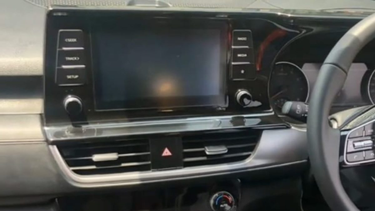 Kia Seltos Interior infotainment screen