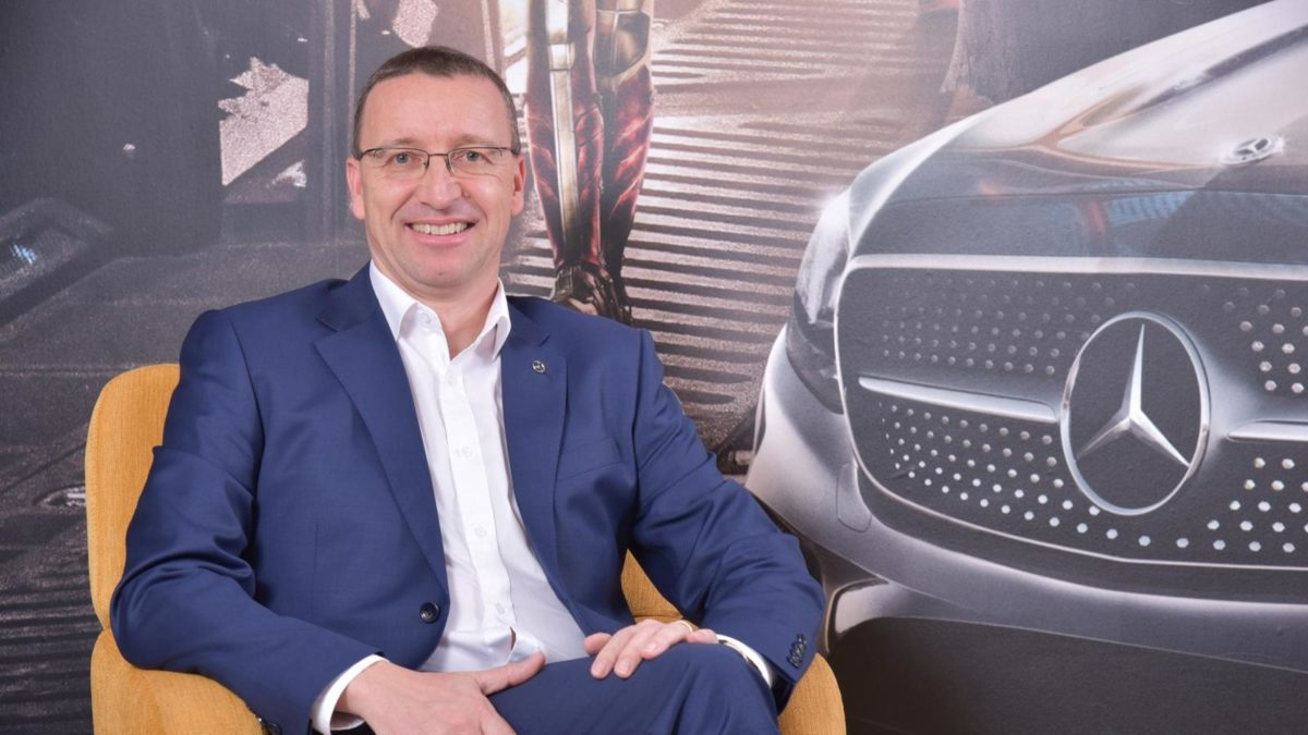 Martin Schwenk, Managing Director & CEO, Mercedes Benz India