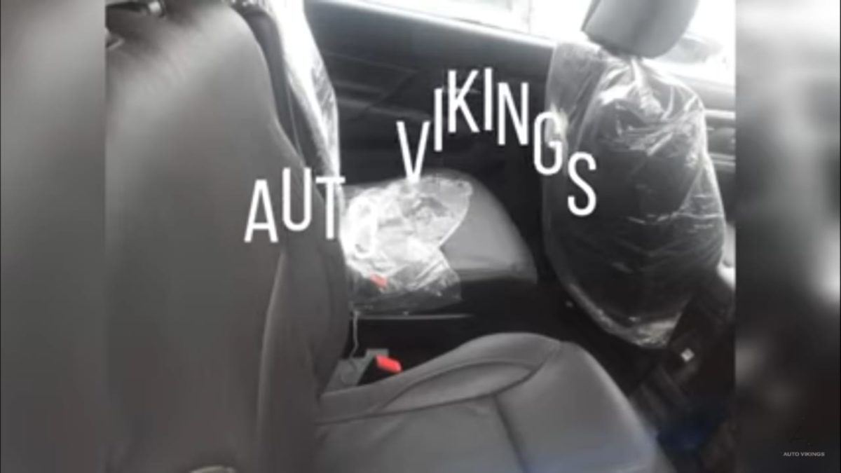 Maruti Suzuki XL6 interior second row