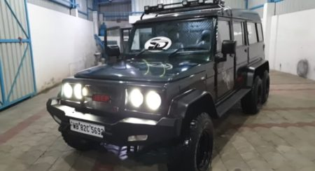 Mahindra Bolero 6×6 Is Rugged On The Outside And Luxurious On The Inside