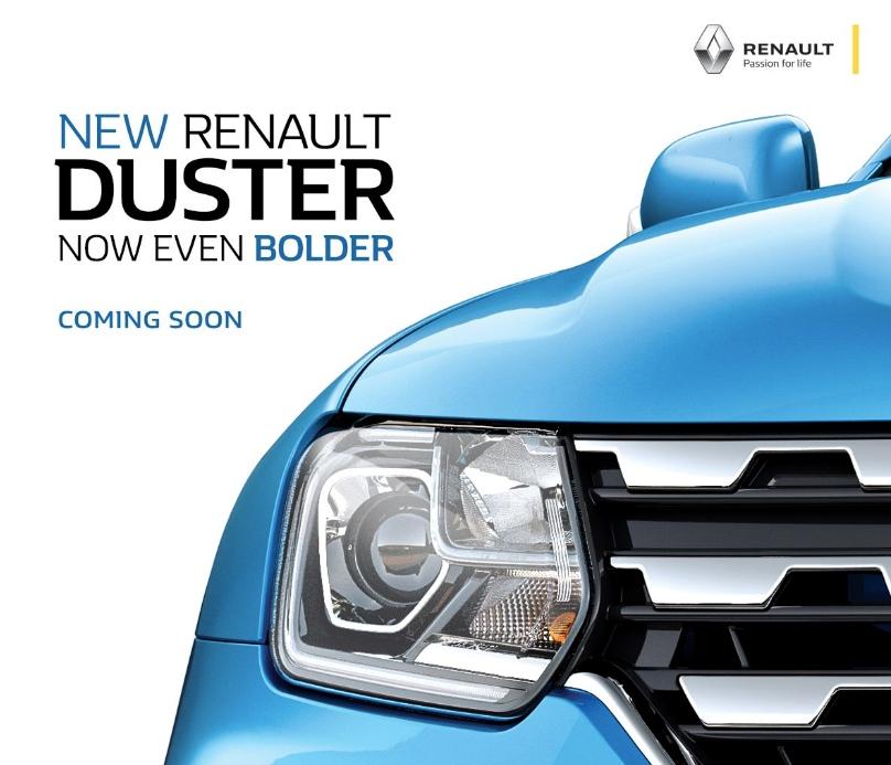New Renault Duster teaser