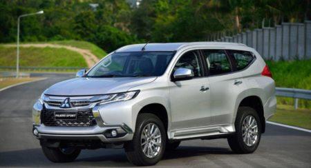 New generation Mitsubishi Sport front quarter