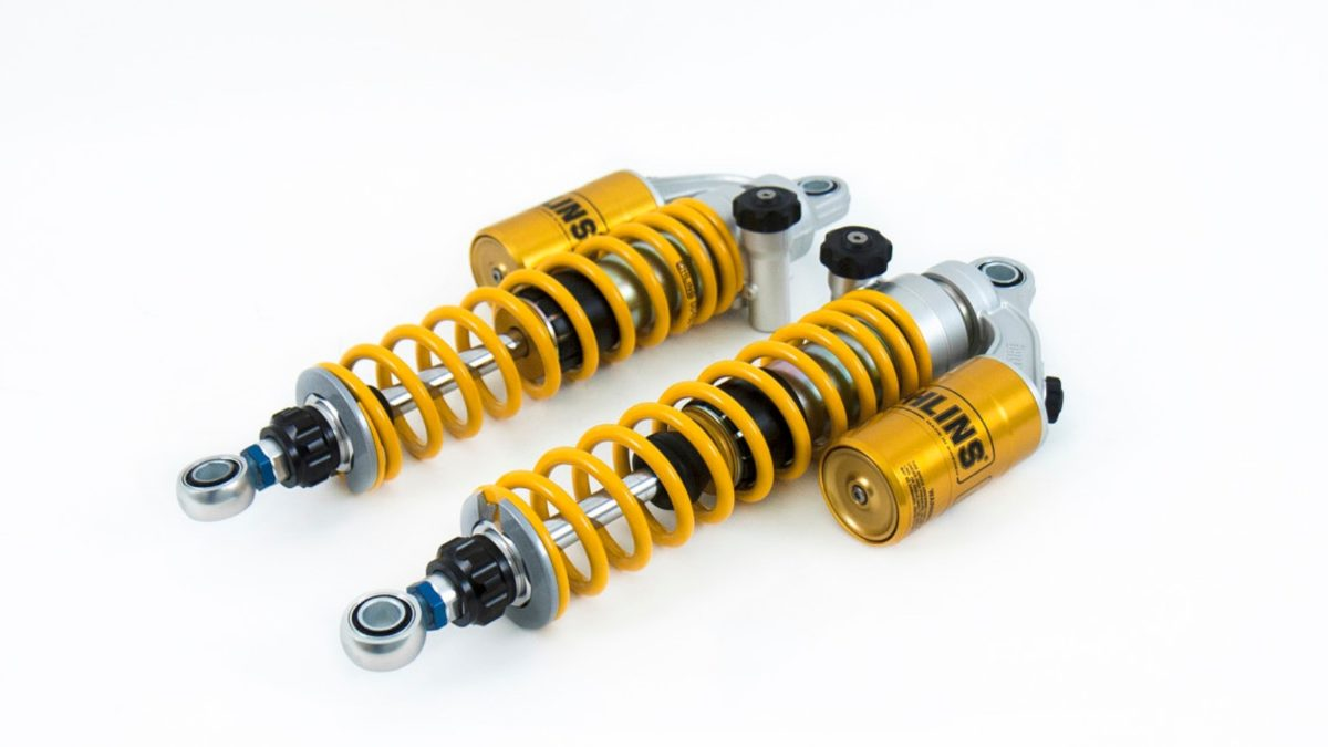 Ohlins rear springs for Royal Enfield 650