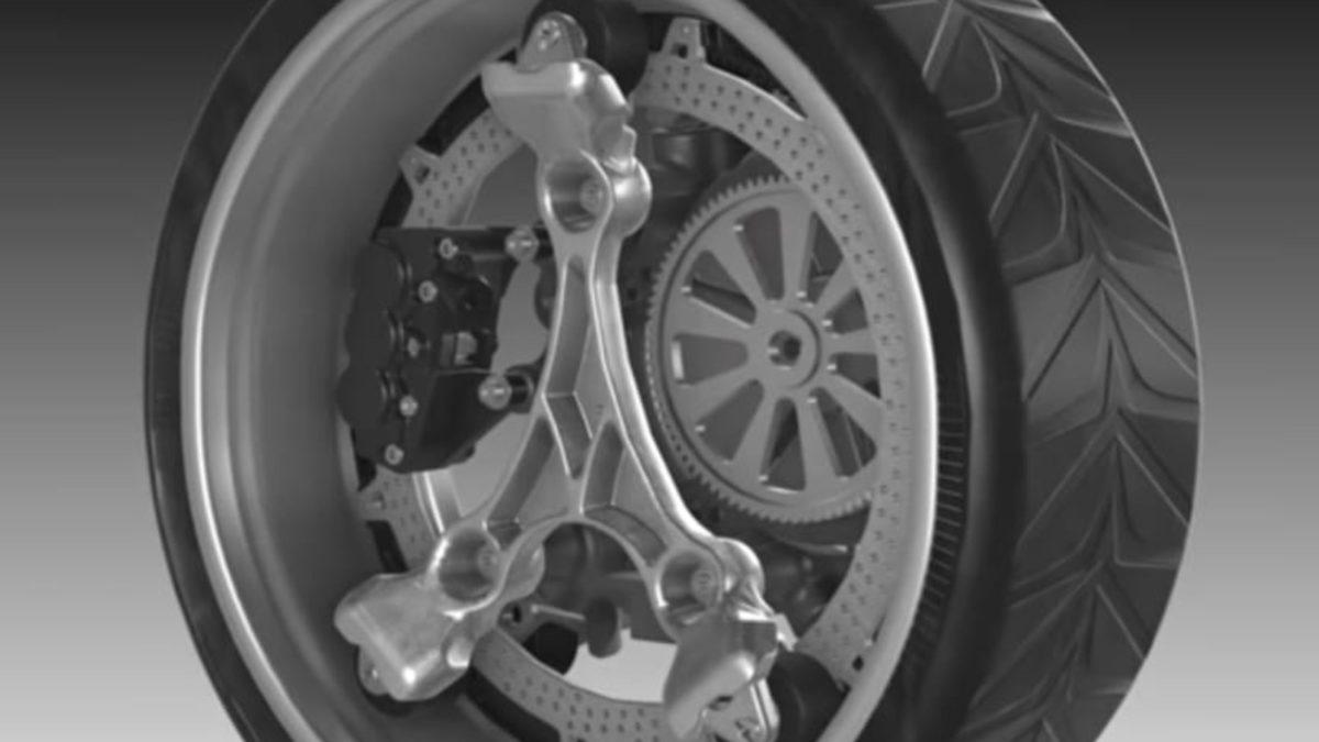 Orbiz Wheel operation front quarter