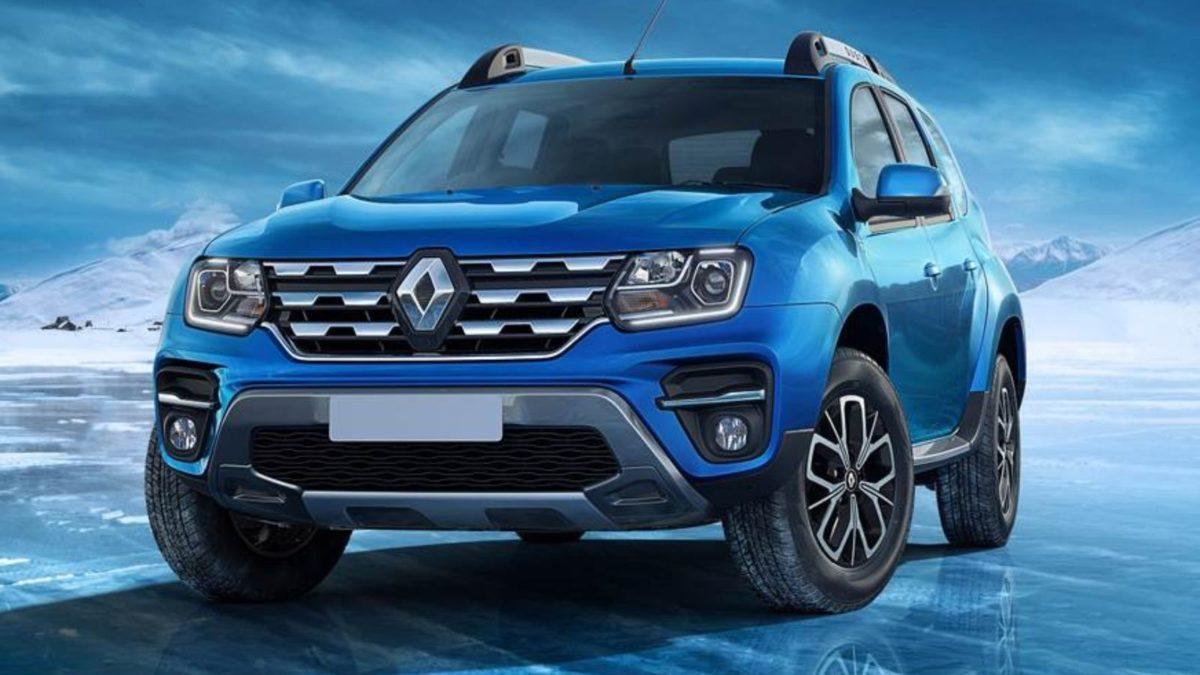Renault Duster facelift front quarter