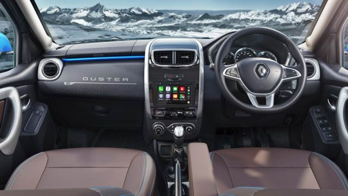 Renault Duster facelift interior