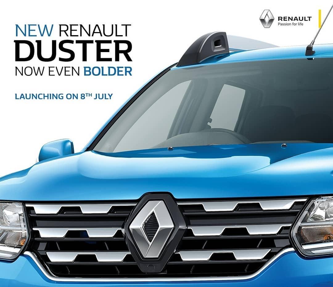 Renault Duster facelift second teaser