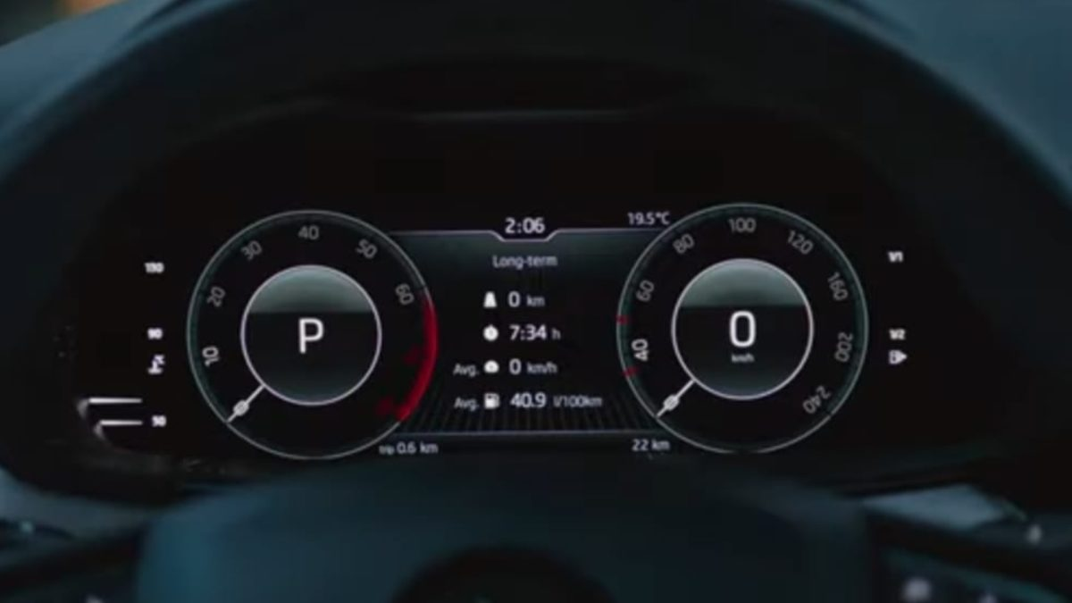 Skoda Kamiq virtual cockpit