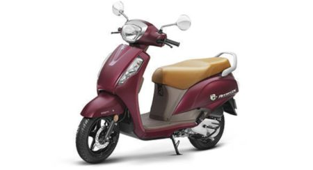 Suzuki Access 125 Matte Red 1