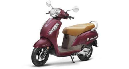 Suzuki Access 125 Matte Red 1