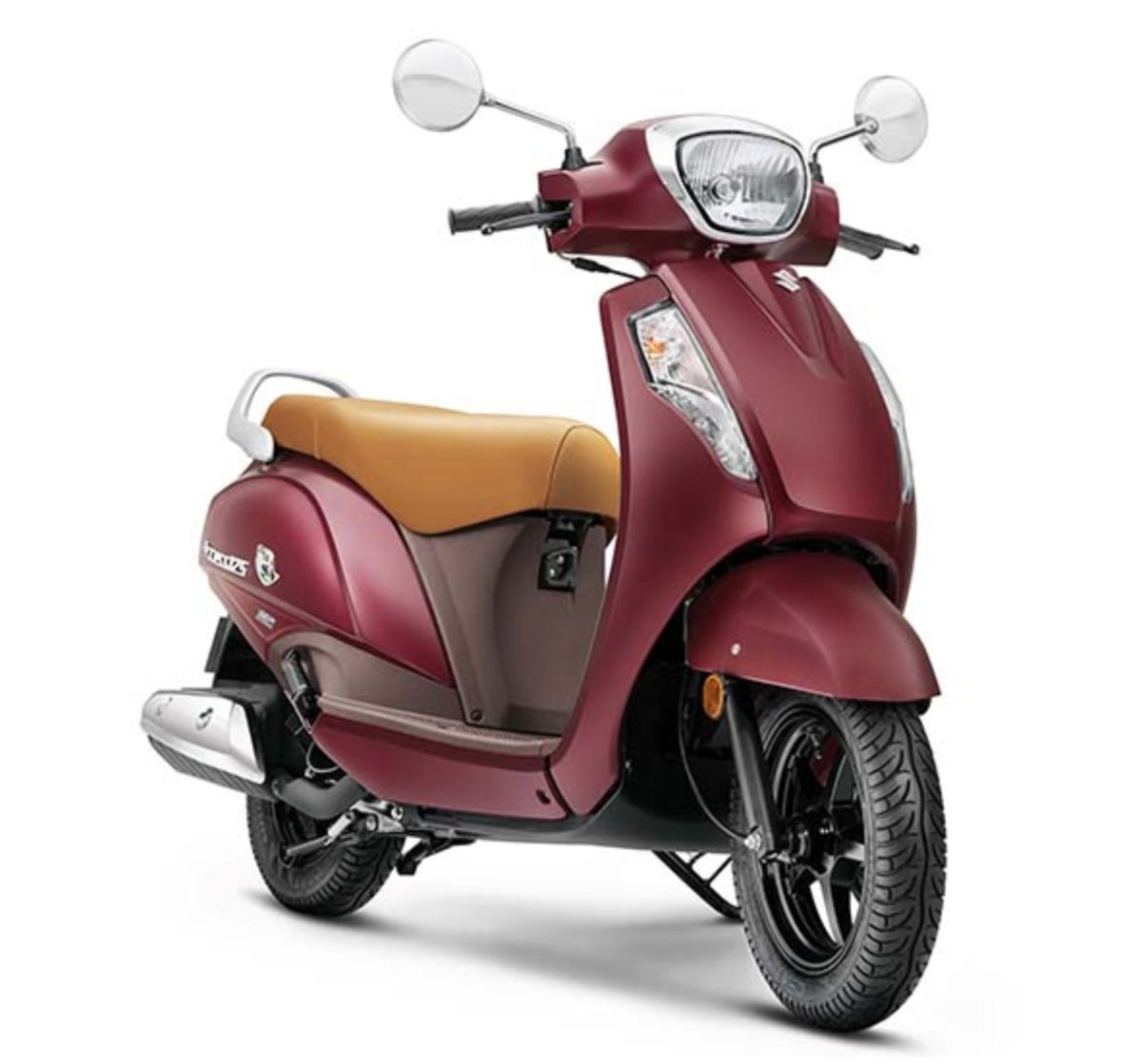 Suzuki Access 125 Matte Red 2