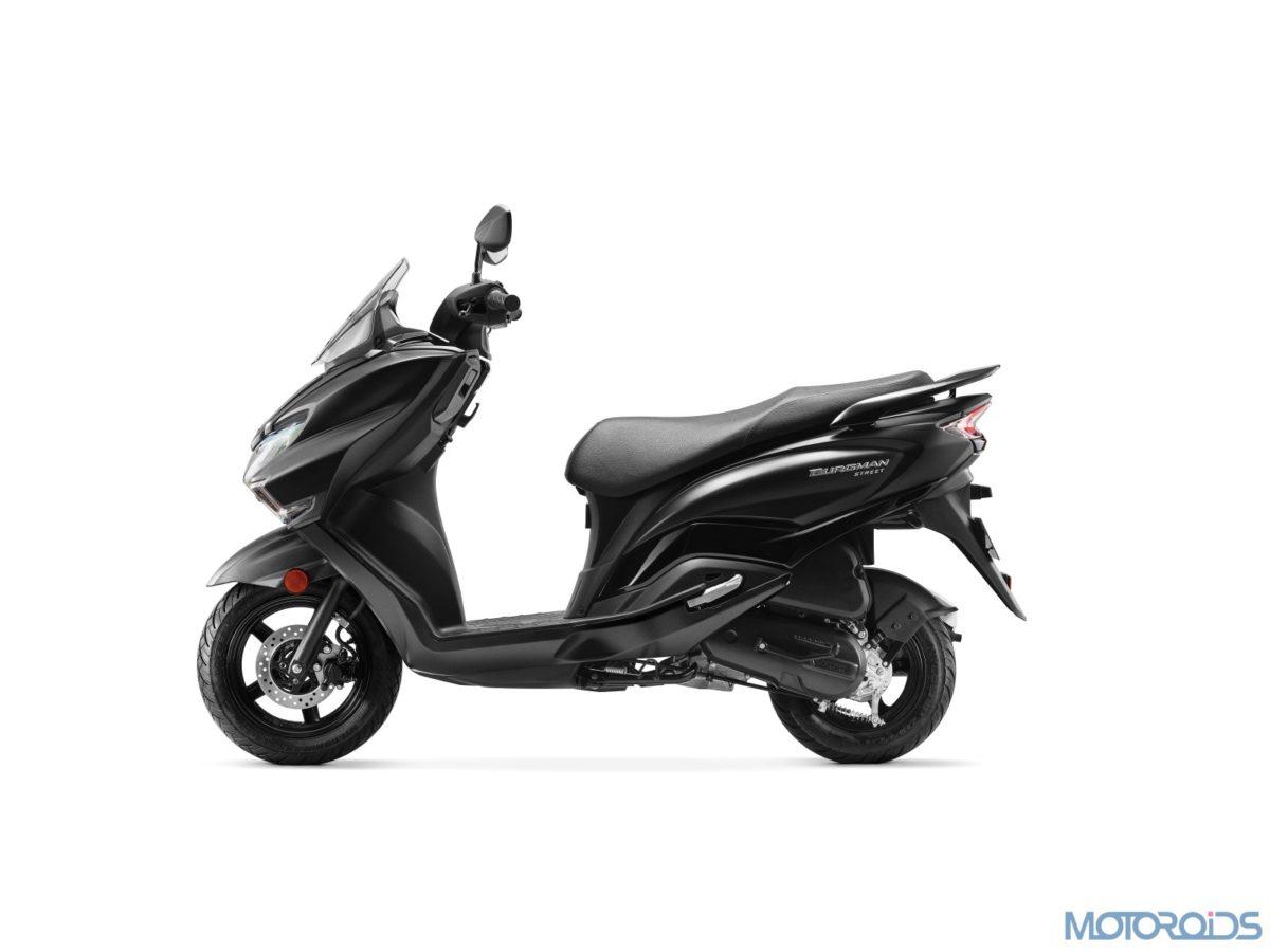 Suzuki Burgman Street Metallic Matte Black (1)