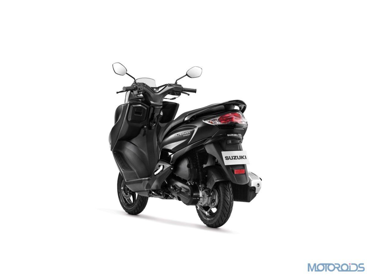 Suzuki Burgman Street Metallic Matte Black (11)