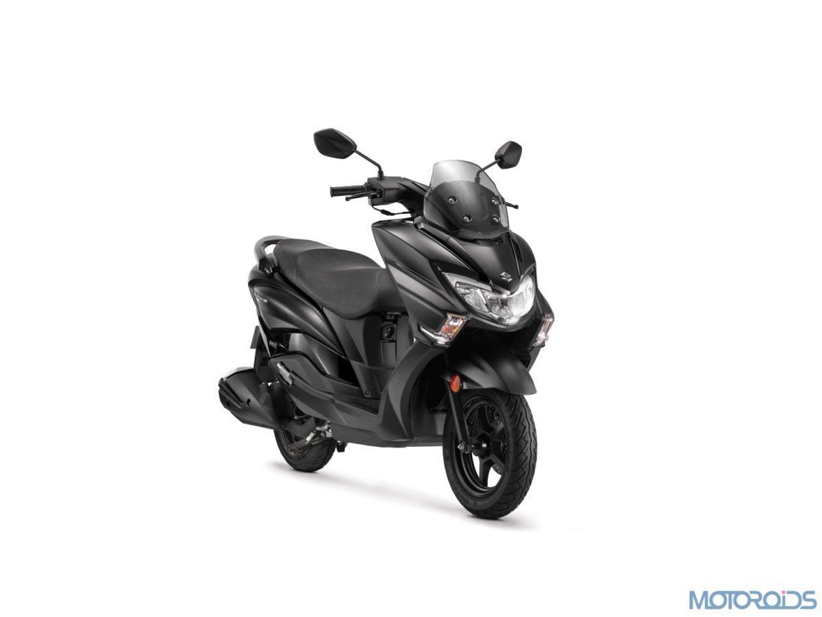 Suzuki Burgman Street Metallic Matte Black (5)