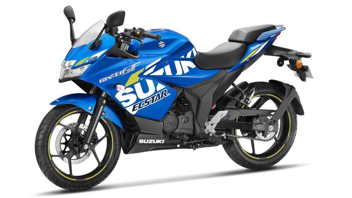 Suzuki GIXXER SF – MotoGP edition