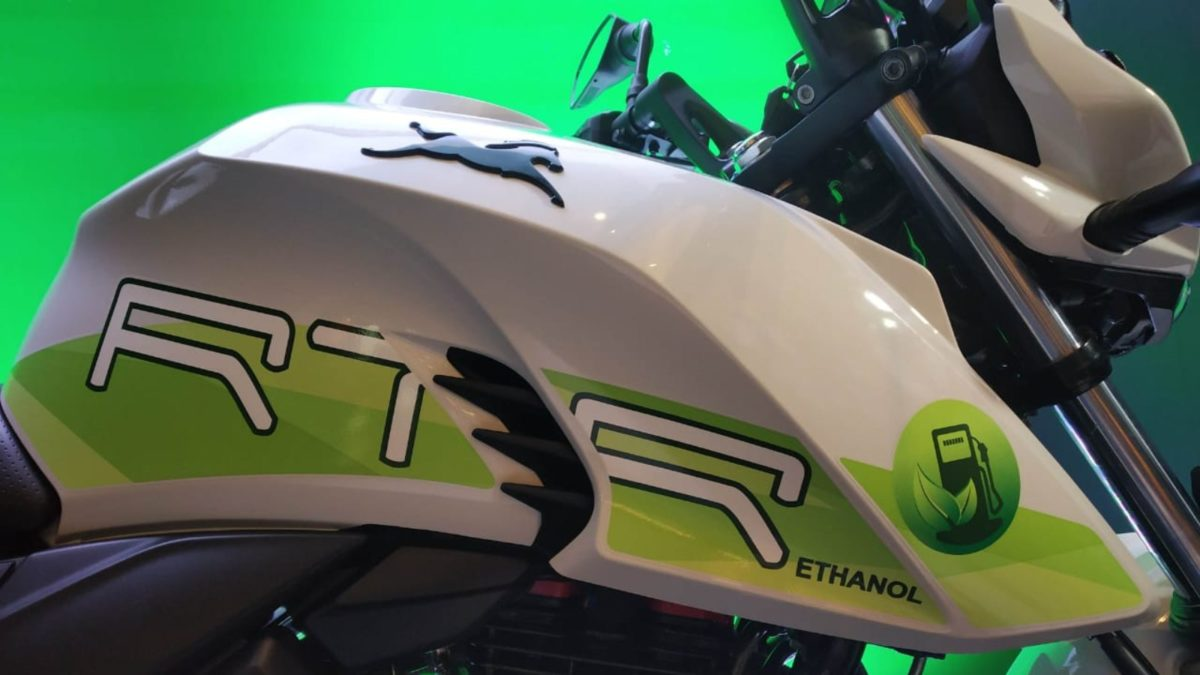 TVS launches the new Apache RTR 200 Fi E100 tank