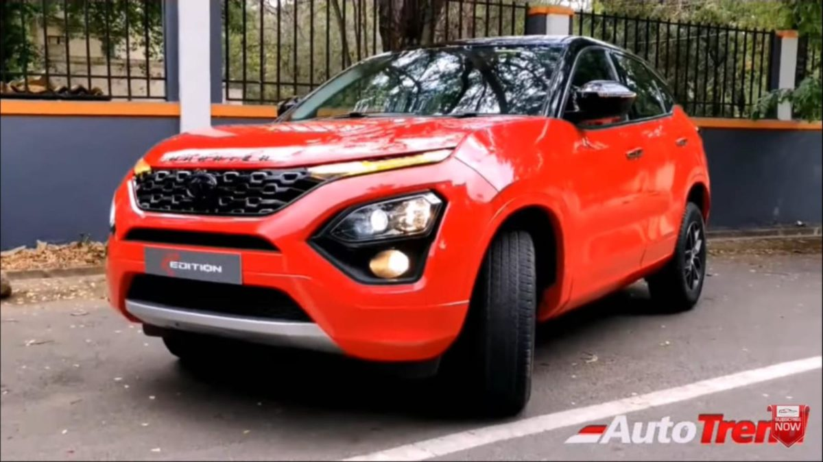 Tata Harrier Redition front quarter
