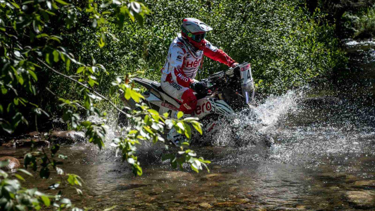 Team Hero Motosports Silkway Rally 2019 bike four