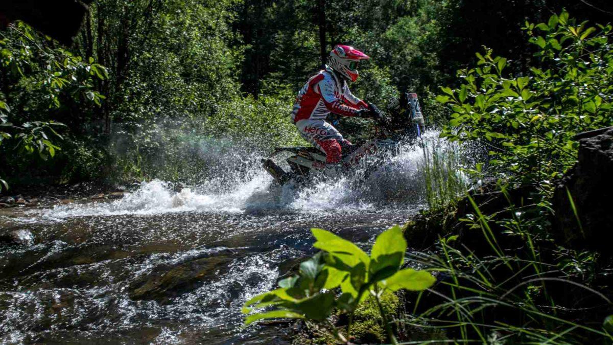 Team Hero Motosports Silkway Rally 2019 bike twenty five